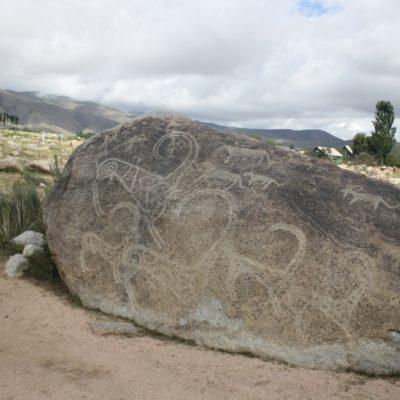 петроглифы в Чолпо-Ате